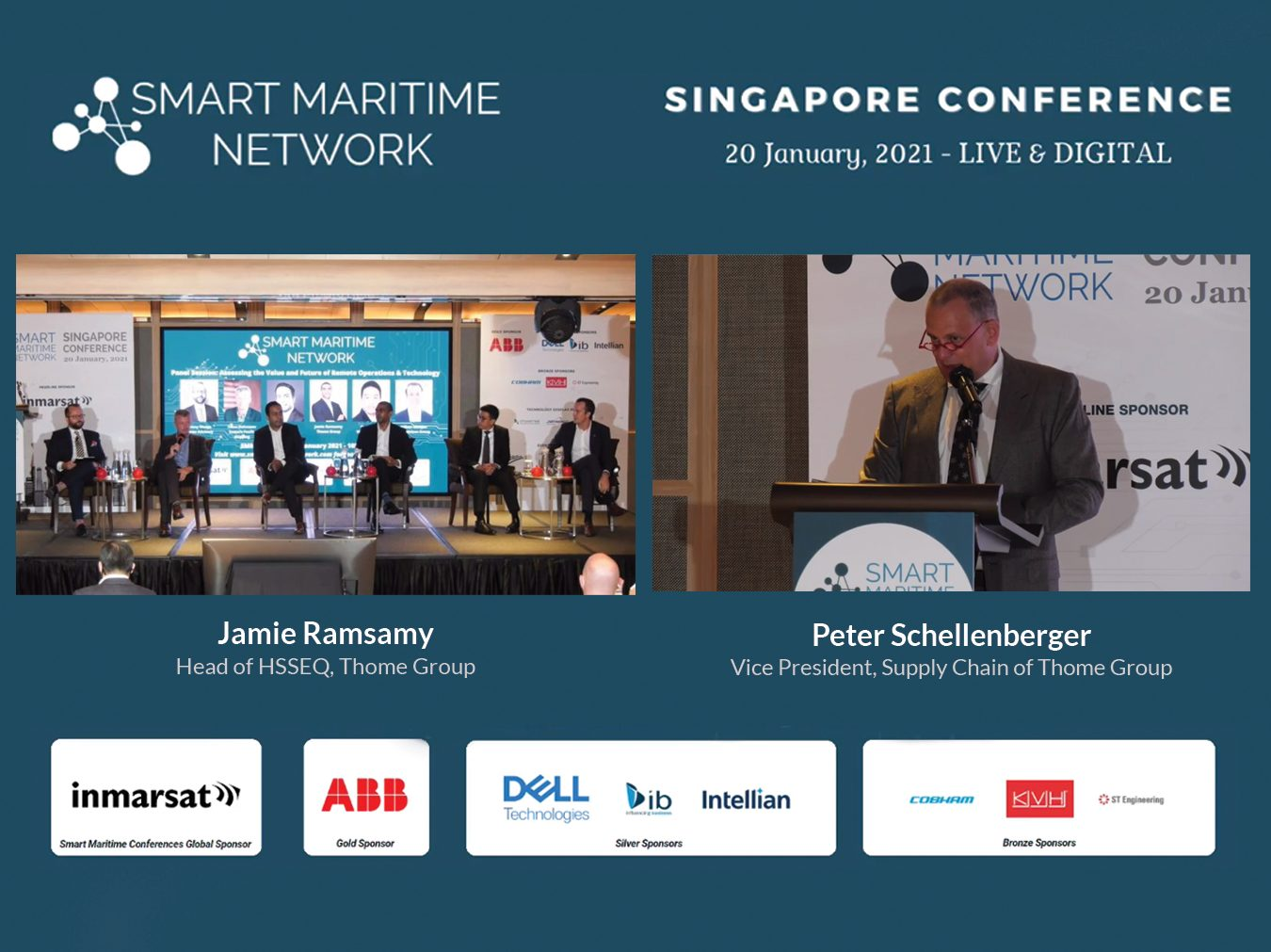 Smart Maritime Network Singapore Conference 2021